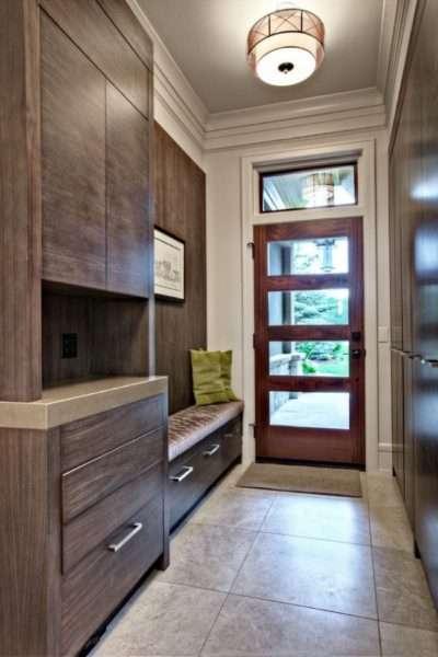 роскошная мебель для узкого коридора