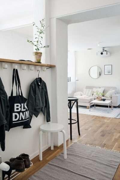 Мебель в длинный узкий коридор