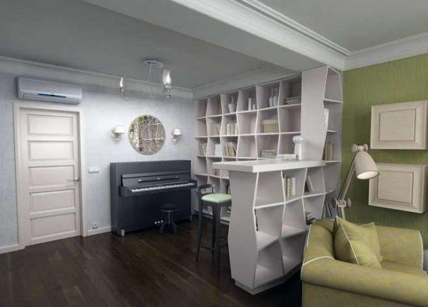 мебельтрансформер в спальне-гостиной