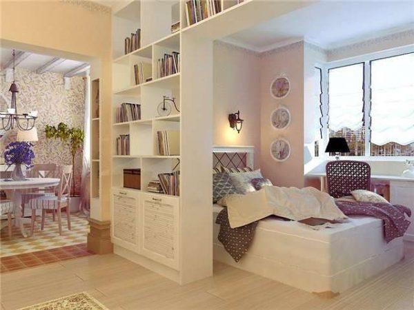 мебель в спальне-гостиной