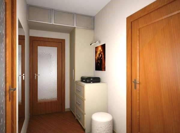 антресоли в коридоре однокомнатной квартиры