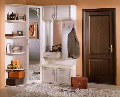 Угловой шкаф в прихожую: встроенные купе, вместительный в ко.