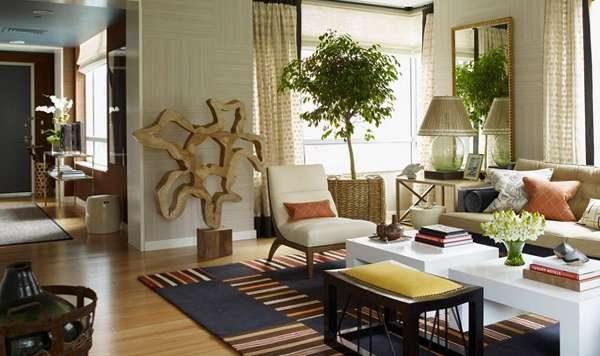 мебель для гостиной в эко стиле