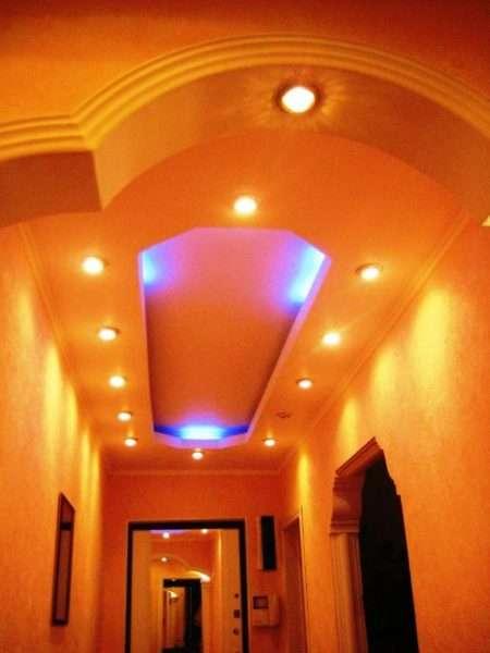 гипсокартонные потолки для коридора