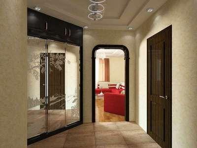 Дизайн коридора в квартире 10 кв