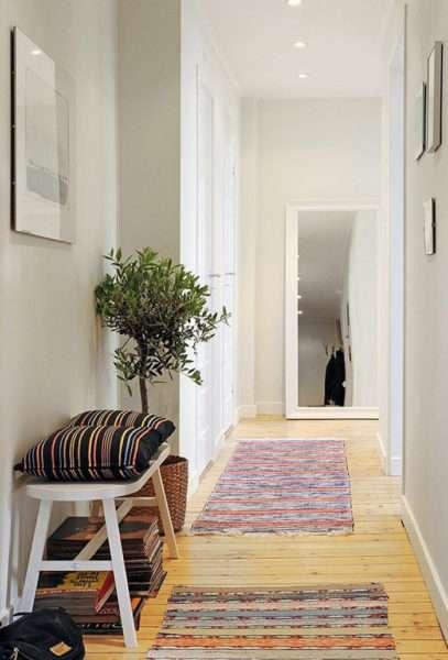 мебель в прихожей в скандинавском стиле