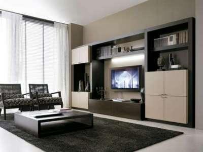 шкаф в гостиной в стиле модерн