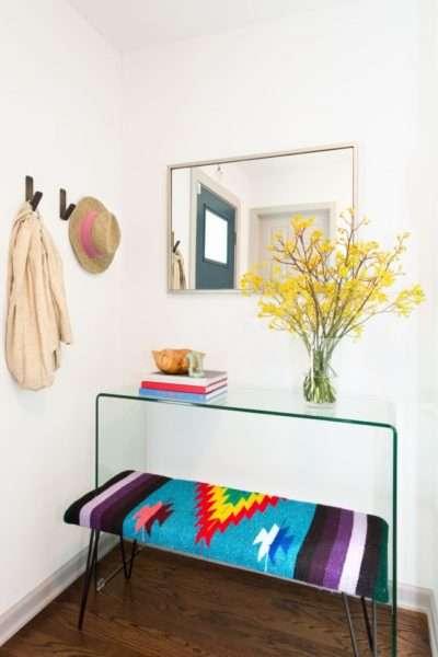 интерьер маленькой прихожей в квартире