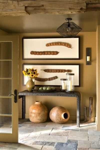 декор в интерьере прихожей в квартире