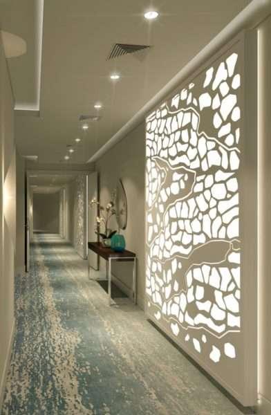 оформление коридора в квартире