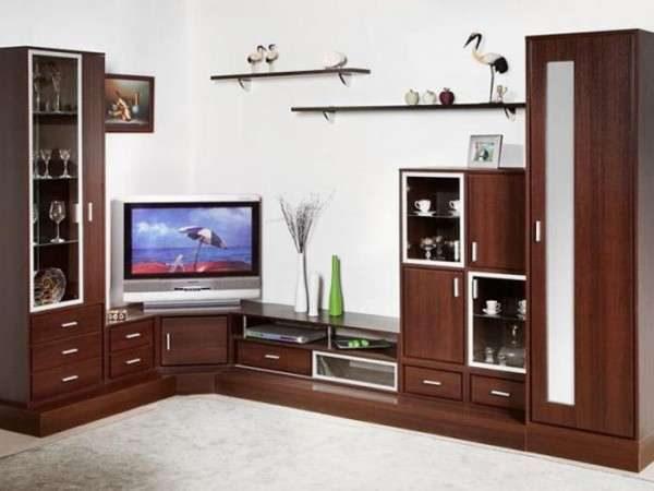 угловая стенка под телевизор в гостиную