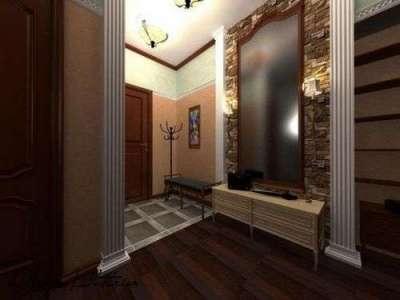 зеркало прямоугольное в гостиной