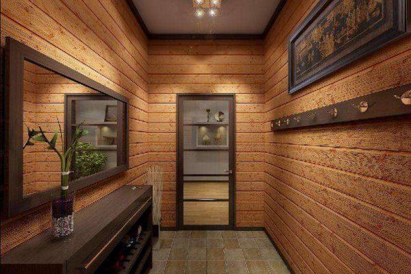 стеновые панели в коридоре панельного дома