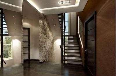 освещенеие коридора с лестницей
