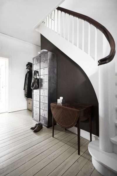 деревянные полы в коридоре