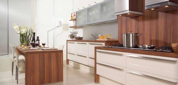 МДФ для фартука в интерьере кухни