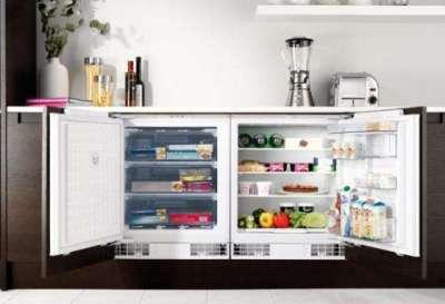 низкий холодильник для маленькой кухни