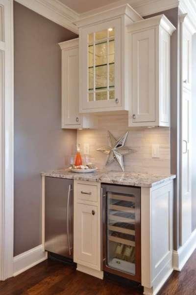 встроенный холодильник для маленькой кухни