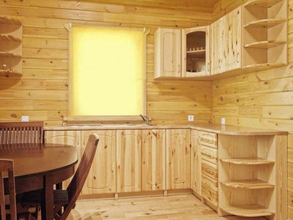 навесные шкафы для кухни из дерева своими руками