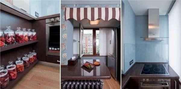 обустройство кухни на балконе или лоджии