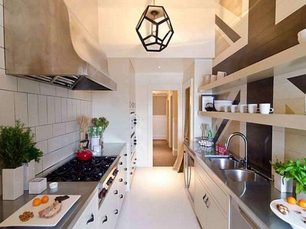 простая параллельная кухня