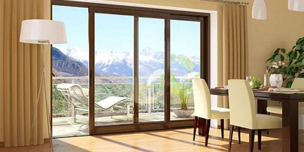 раздвижные двери на балконе