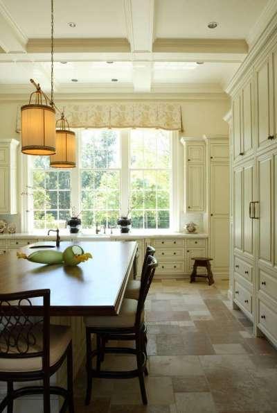 светильники на кухне в английском стиле
