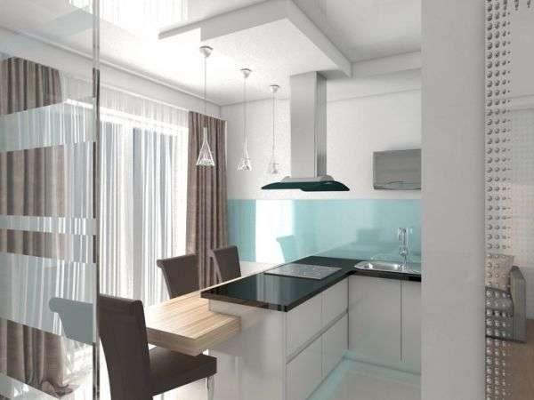 светильники на кухне в стиле минимализм
