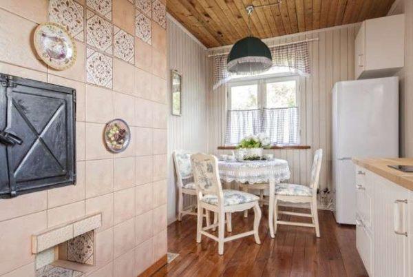 отделка кухни в стиле прованс