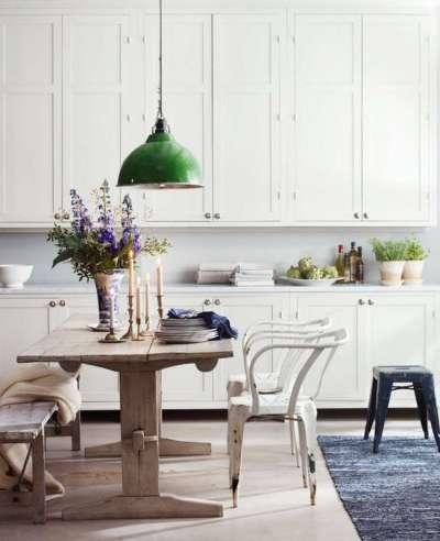 цветы на кухне в стиле кантри