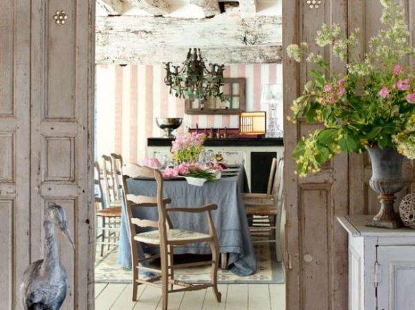 Кухни в стиле кантри и прованс
