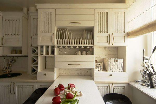 функциональная кухня шесть метров