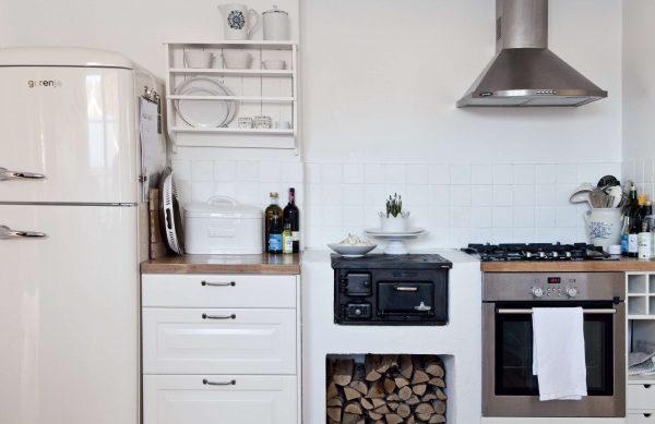 ремонт белой кухни шесть метров