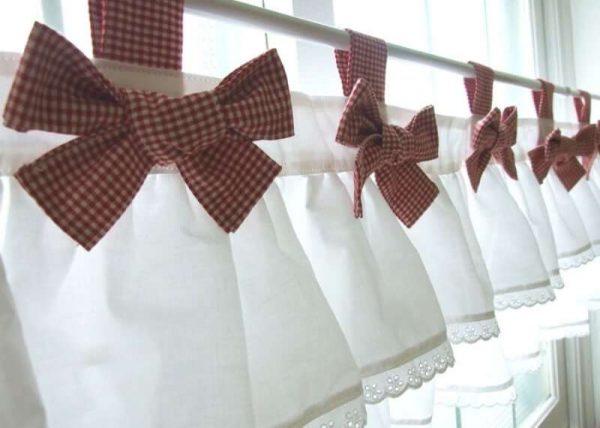 Шьем шторы своими руками для кухни