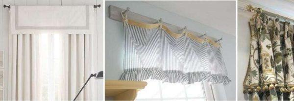 шторы на кухню своими руками с ламбереконом