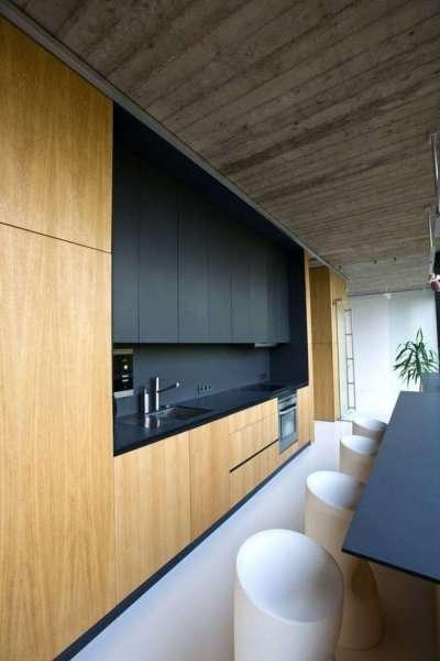 дизайн кухни в минималистическом стиле