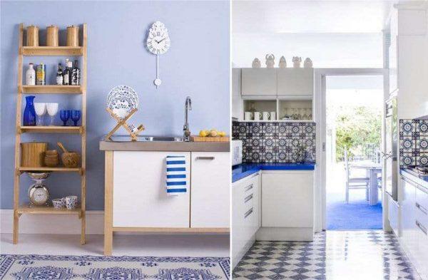декор на кухне в средиземноморском стиле