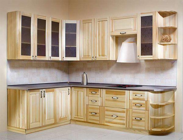 кухня своими руками угловая из мебельных щитов