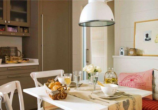 мебель на кухне гостиной
