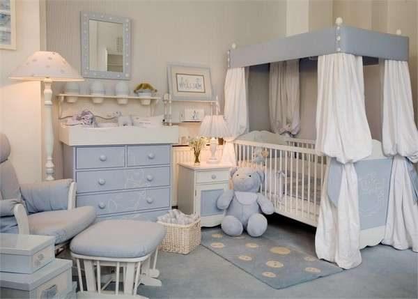 интерьер детской комнаты мальчика который только родился