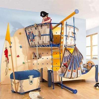 интерьер детской комнаты дошкольника