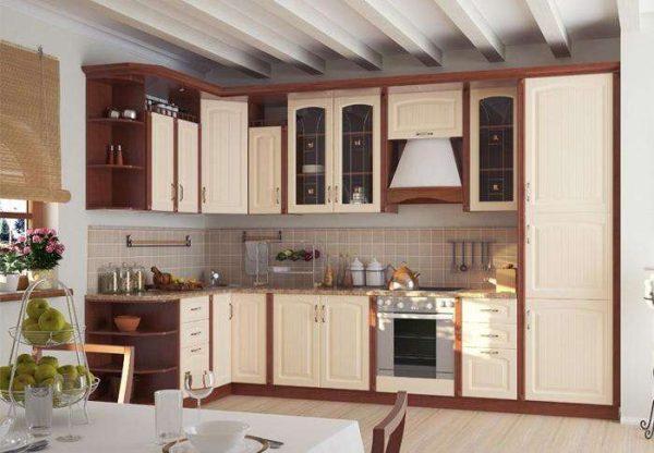 угловая модульная кухня своими руками