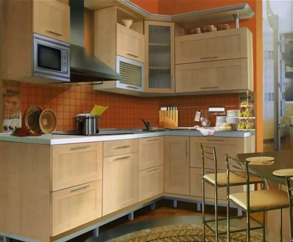 угловая кухня своими руками