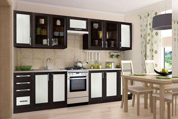 модульная кухня своими руками с обеденным столом