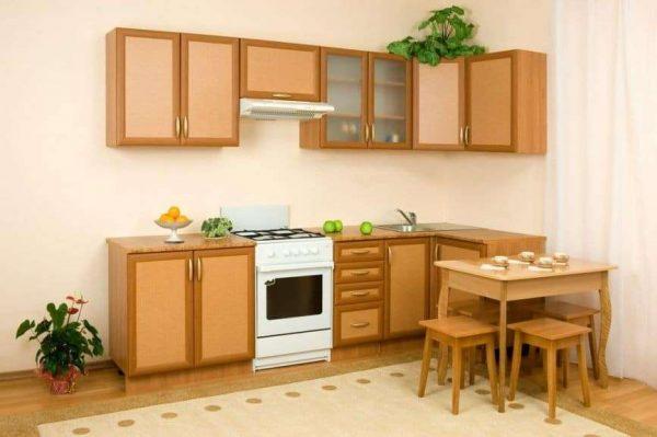 коричневая кухня своими руками
