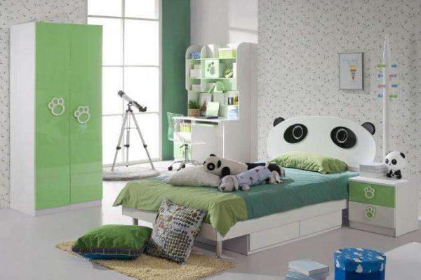 кровать панда для мальчика в детской