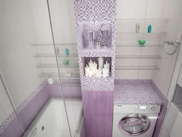 короб для труб в ванной