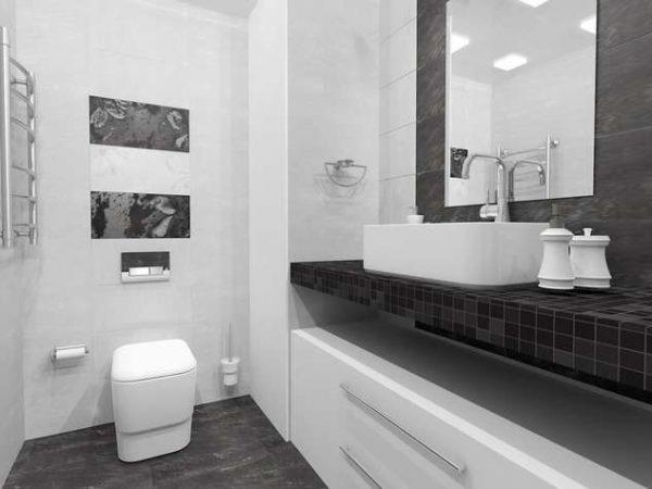 интерьер ванной в хрущёвке