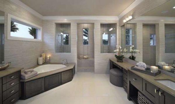 кафель в отделке ванной комнаты