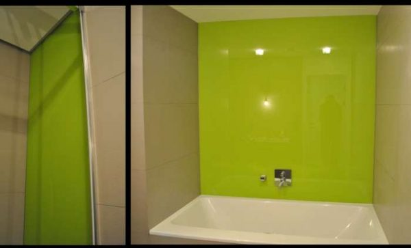 пластик в интерьере ванной комнаты